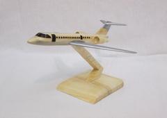 ماکت چوبی هواپیمای مسافربری Bombardier